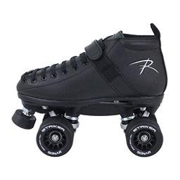 Riedell 165 Vixen Womens Derby Roller Skates, Black, 256