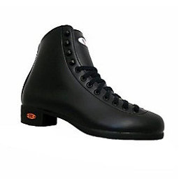 Riedell Black 121 RS Figure Skate Boots, Black, 256