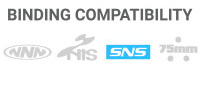 Binding Compatibility: SNS - Toe bar with a single groove on the sole of the boot