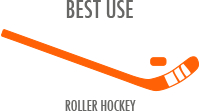 Best Use: Roller Hockey - sizes may vary on frame; softer durometer