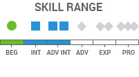 Skill Range: Beginner-AdvancedIntermediate