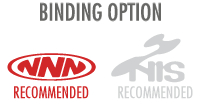 Binding Option: Flat (NNN BC) - NNN BC binding is recommended; NOT included