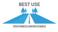 Best Use: Groomed/Ungroomed - support and stability on various terrain