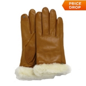sale item: Ugg Australia Classic Leather Smart Womens Gloves