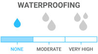 Waterproofing: No waterproofing or treatment; typically casual pants