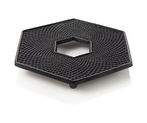 Featured Item: Black Hexagon Cast Iron Trivet