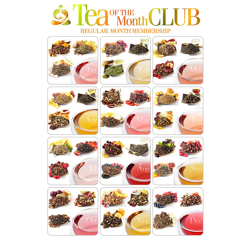 Classic Journey Tea of the Month Club (12 months)