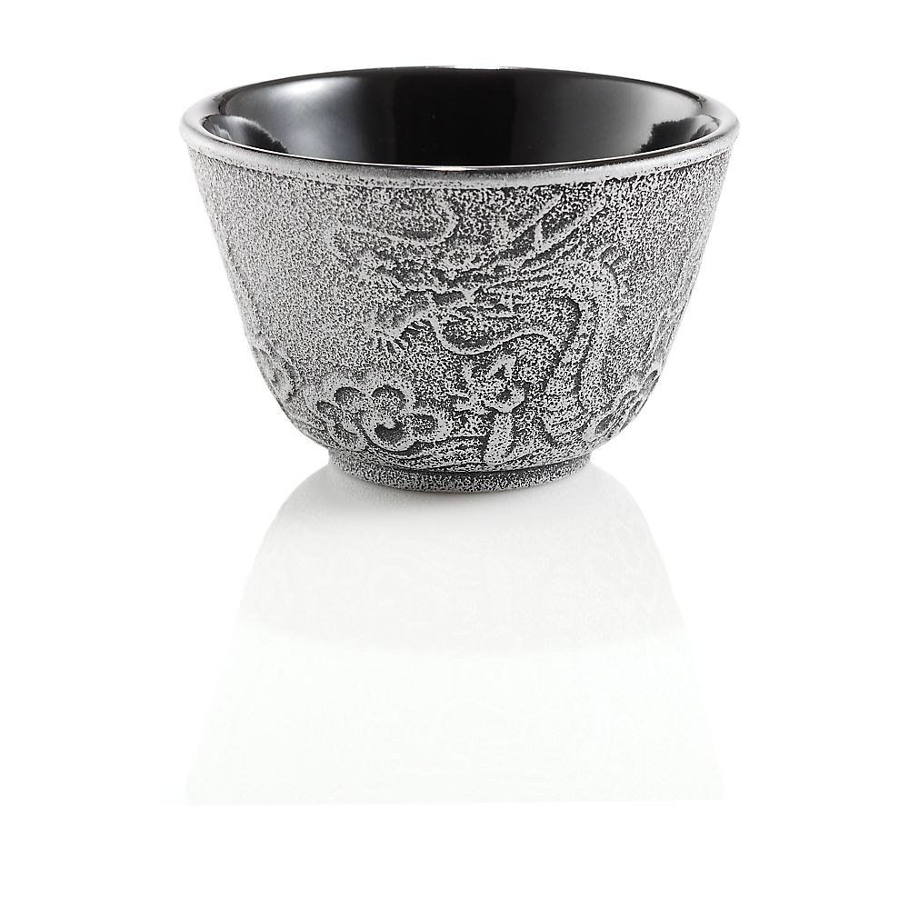 Teavana Small Cast Iron Tea Cup, Japanese Imperial Dragon