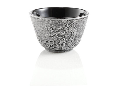 Imperial Dragon Japanese Cast Iron Tea Cup