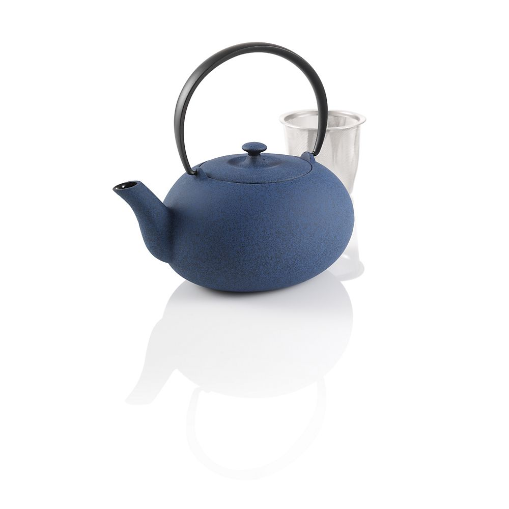 Teavana Blue Fuku Japanese Cast Iron Teapot