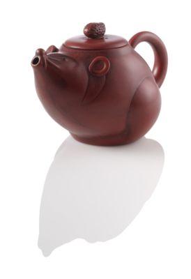 whimsical mouse tea pot