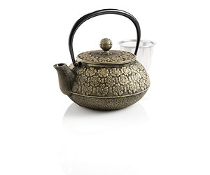Featured Item: Cherry Blossoms Japanese Cast Iron Teapot