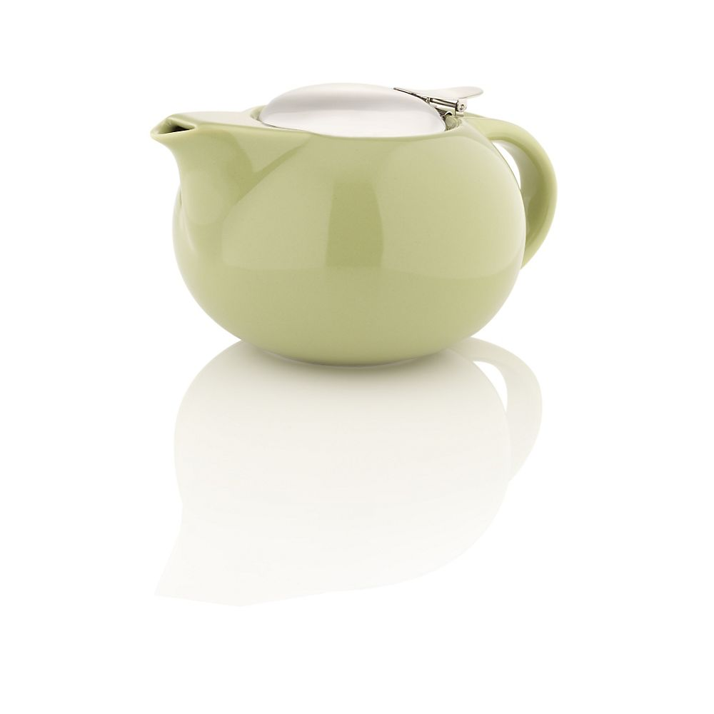 Teavana Porcelain Teapot with Stainless Steel Lid