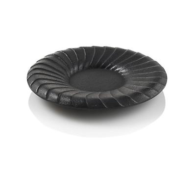Kiku Black Cast Iron Coaster