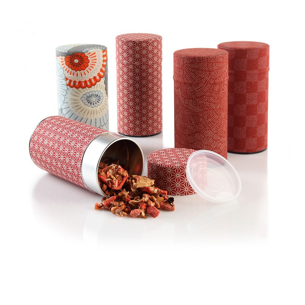 Teavana Red Tea Storage Tin