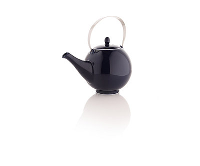 Rondo Teapot with Stainless Steel Handle