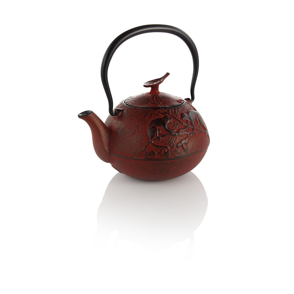 Teavana Year of the Monkey Cast Iron Teapot