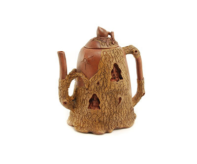 Buddha Tree Yixing Teapot