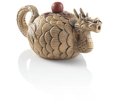 Winter Dragon Yixing Teapot