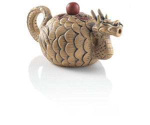 Featured Item: Winter Dragon Yixing Teapot