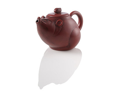 Tiny Mouse Yixing Teapot