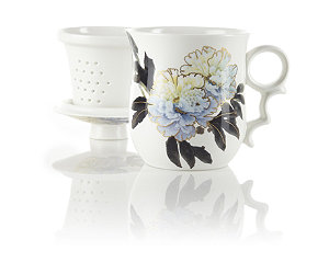 Featured Item: Blue Peony Infuser Tea Mug