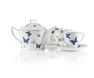Featured Item: Gossamer Butterflies Porcelain Tea Set
