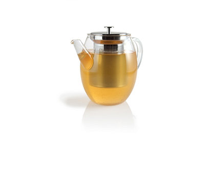 Claire Glass Teapot with Stainless Steel Infuser