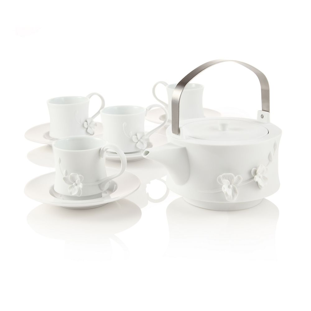 Teavana white orchid teapot set innopoint - Teavana teapot set ...