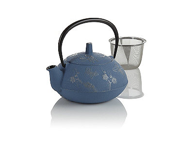 Butterfly Cast Iron Teapot