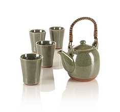 Seagrass Teapot Set