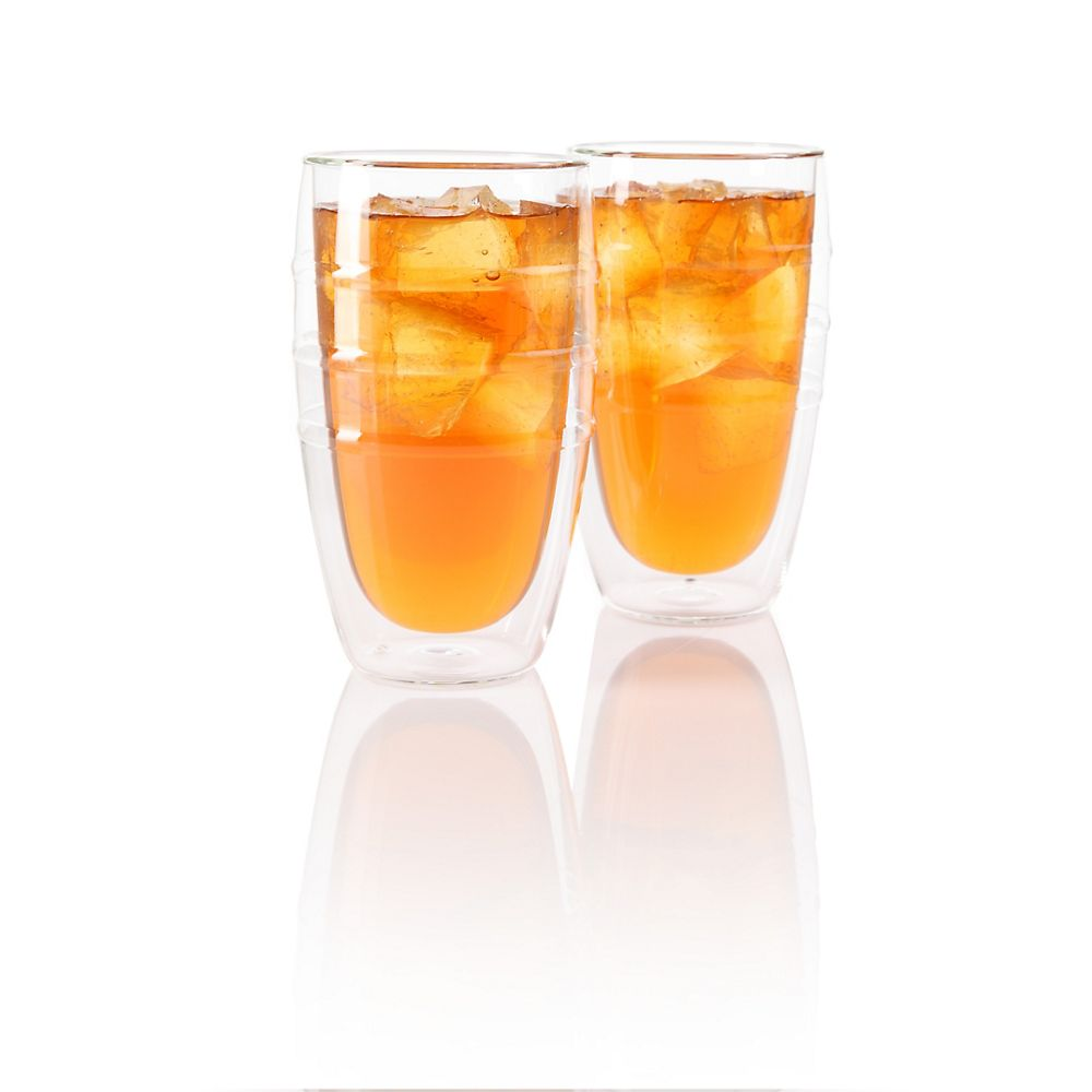 Teavana Kiran Large Tea Glasses, 14oz