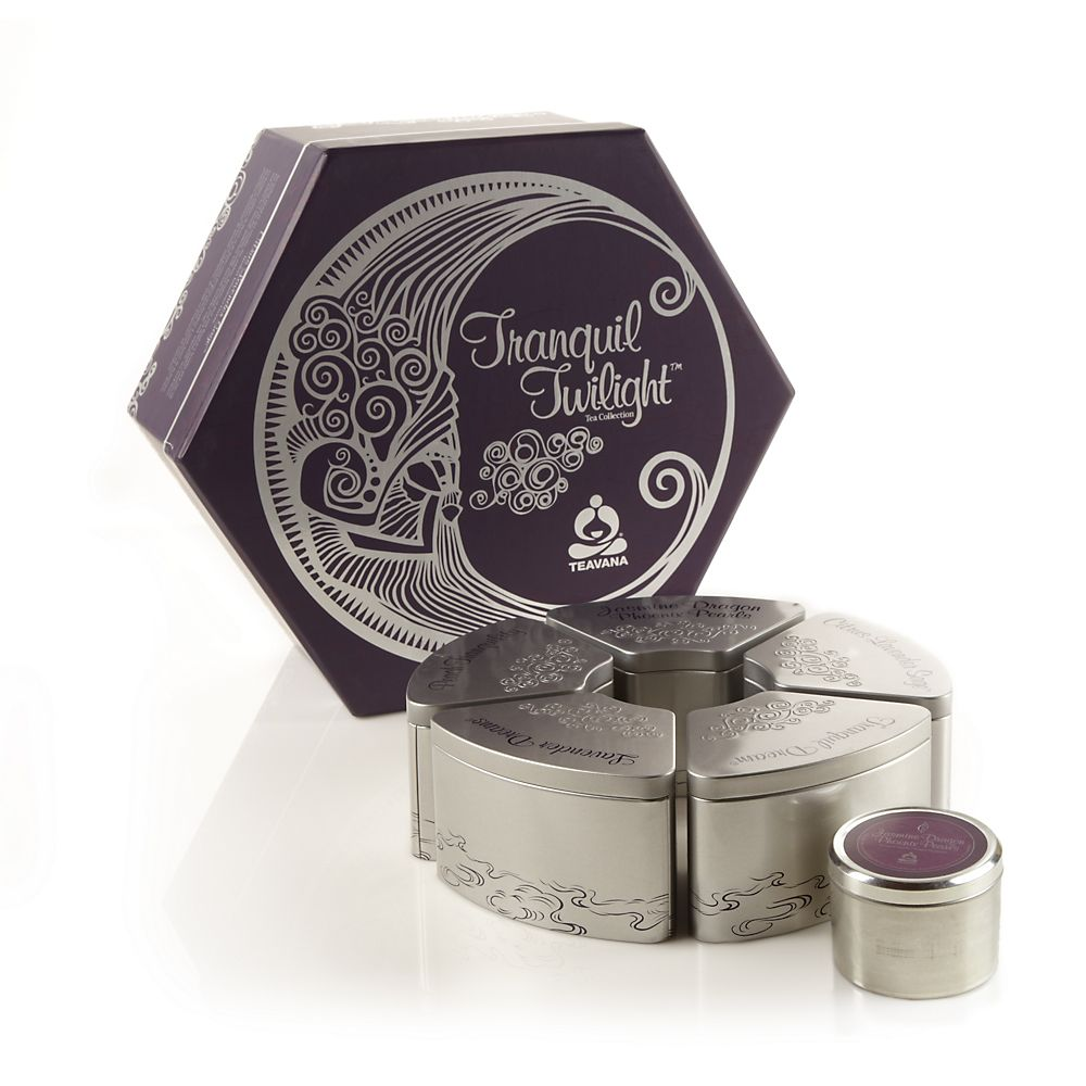 Tranquil Twilight Relaxing Loose-Leaf Tea Gift Set