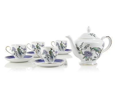 Peacock Teapot Set