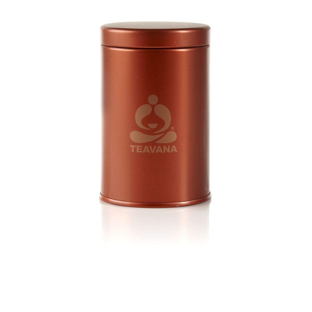 Small Copper Tea Tin, 3oz