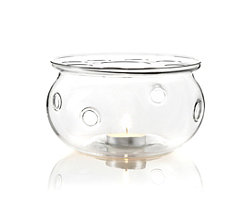 Aurora Glass Teapot Warmer