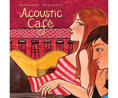 Acoustic Cafe Music CD