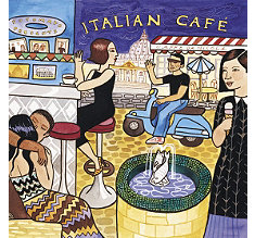 Italian Cafe Music CD at Teavana