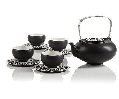 Asiatique Teapot Set