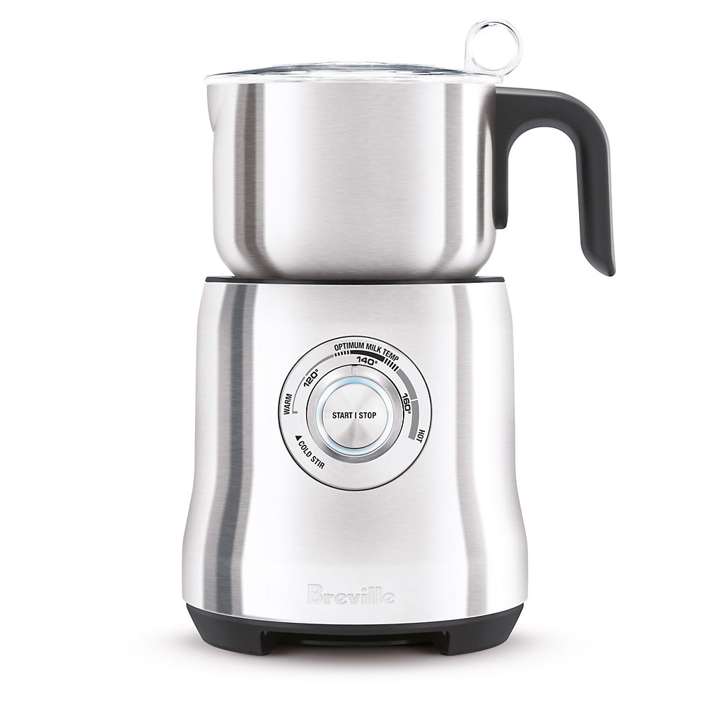 "Teavana Breville Electric Hot & Cold Milk Frother, silver (""The Milk Cafe"")"