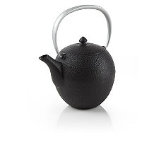Black Mayu Cast Iron Teapot