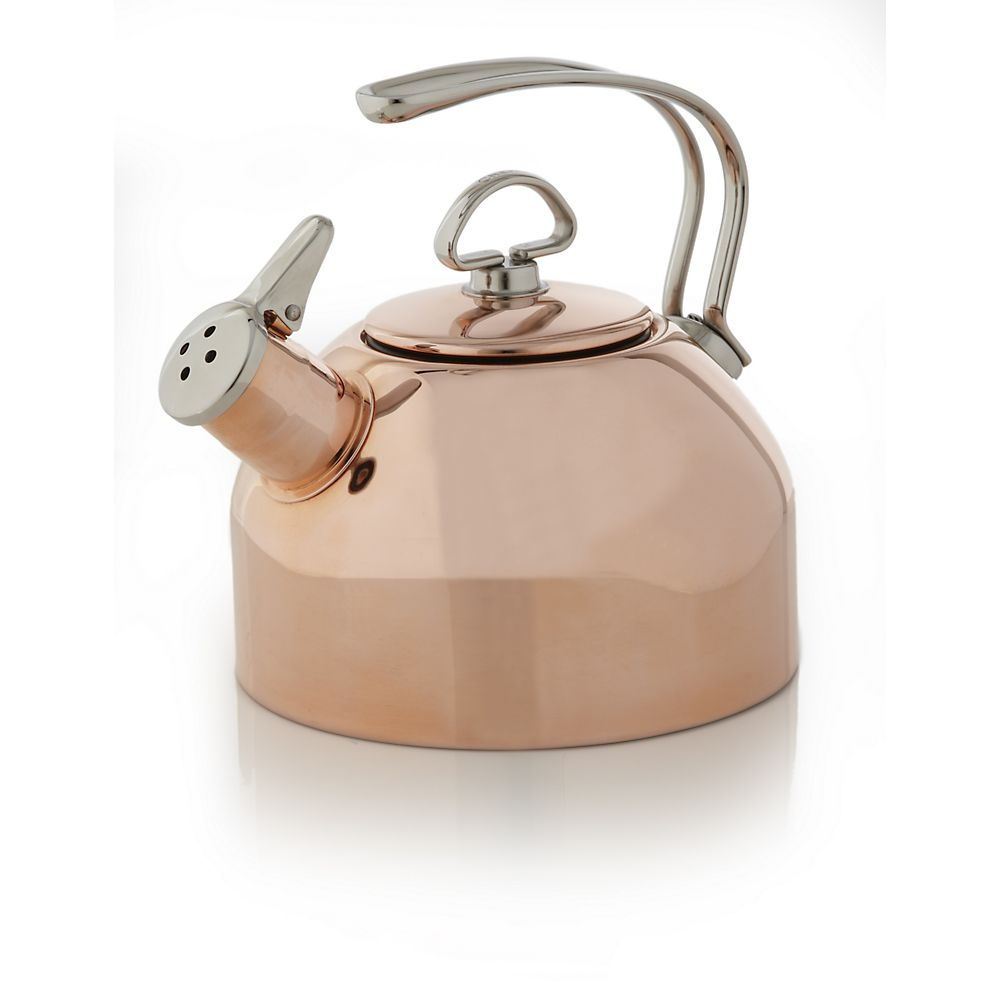 Teavana Chantal Classic Copper Tea Kettle