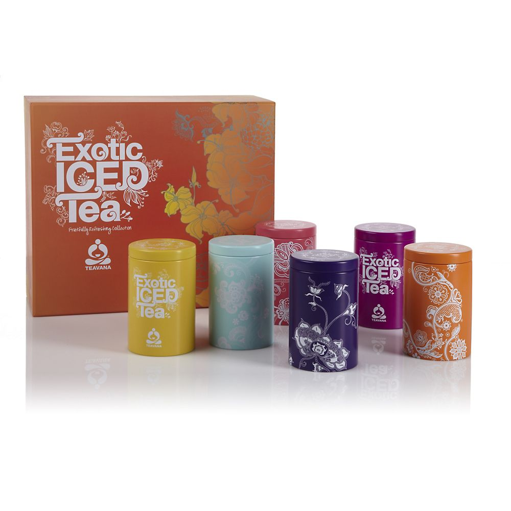 Teavana Exotic Iced Teas Collection
