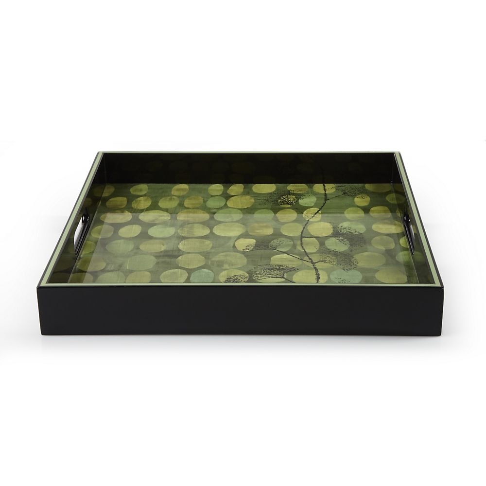 Teavana Ginseng Square Serving Tray
