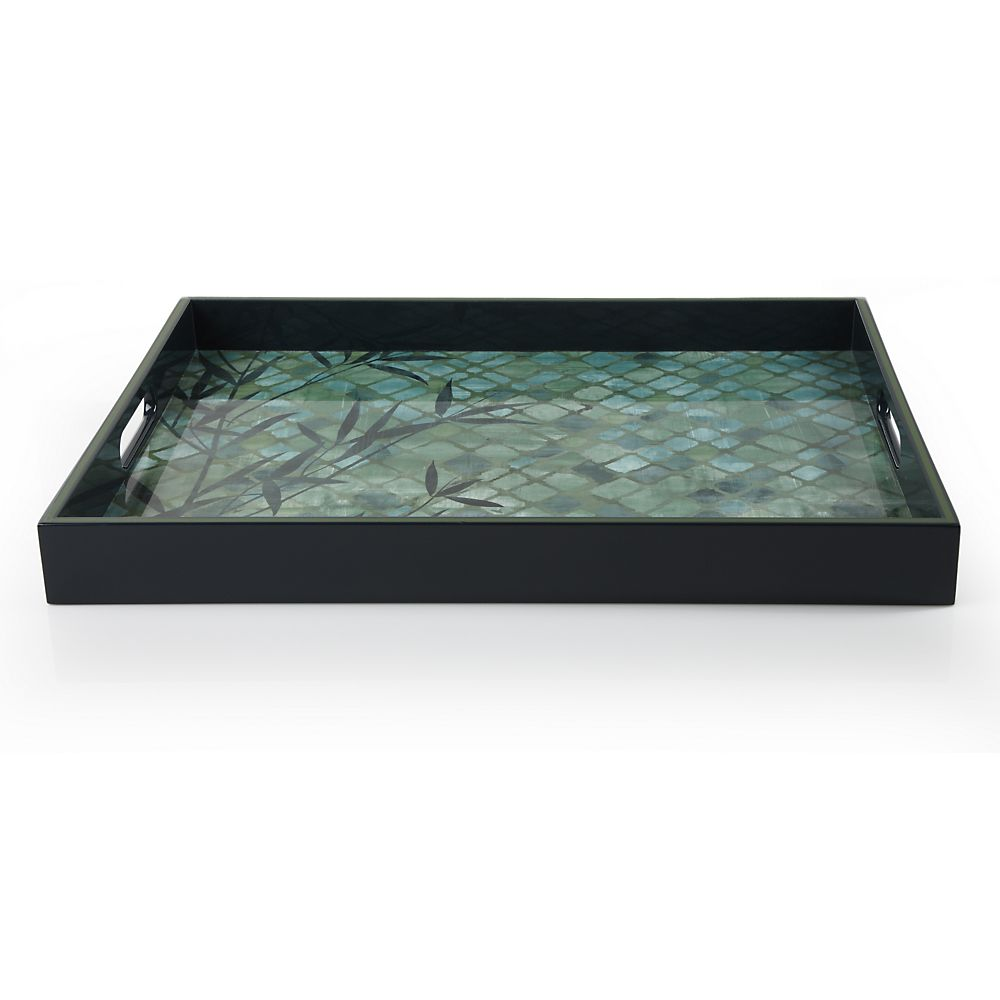 Teavana Bamboo Rectangular Serving Tray