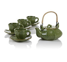Leaf Teapot Set