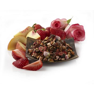 Strawberry tea: Strawberry Rose Champagne/Peach Tranquility Tea Blend