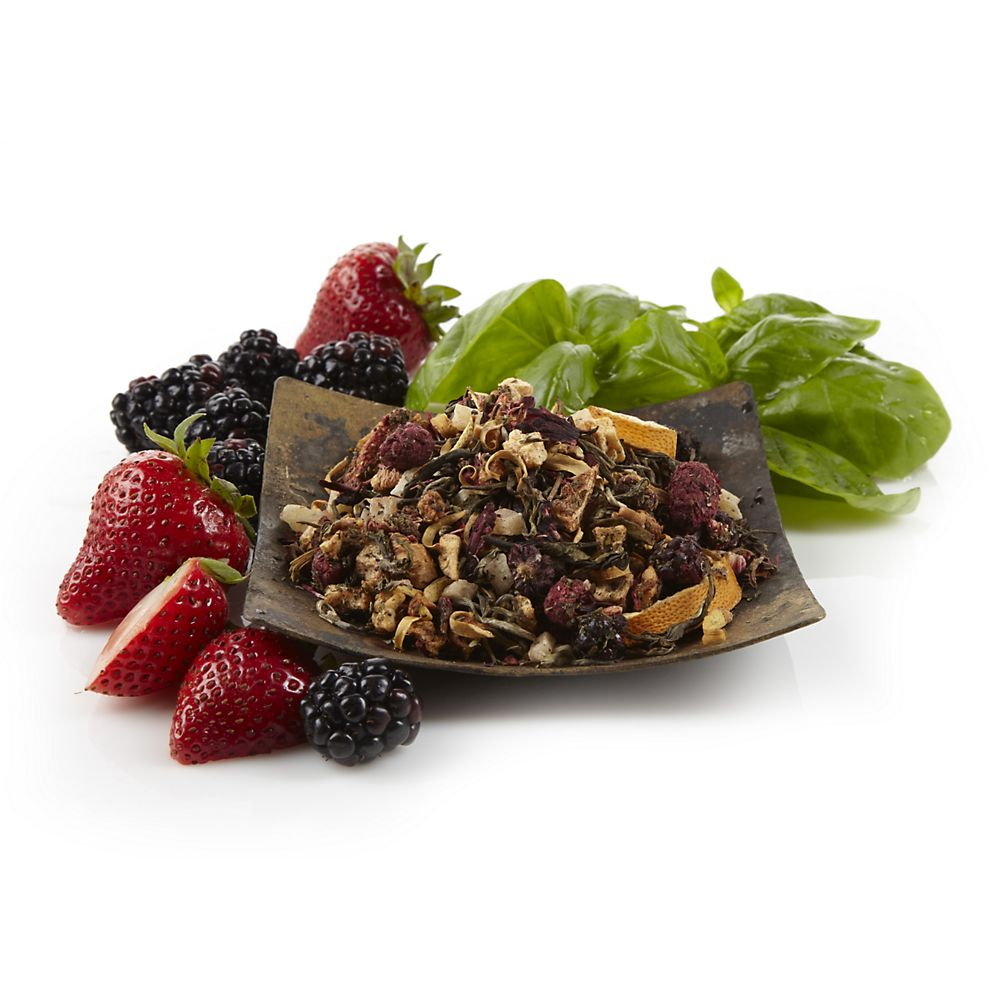 Teavana Berry Basil Blast Loose-Leaf White Tea