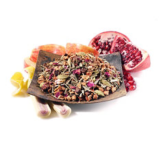 Apple Lemon Pomegranate Rooibos Tea