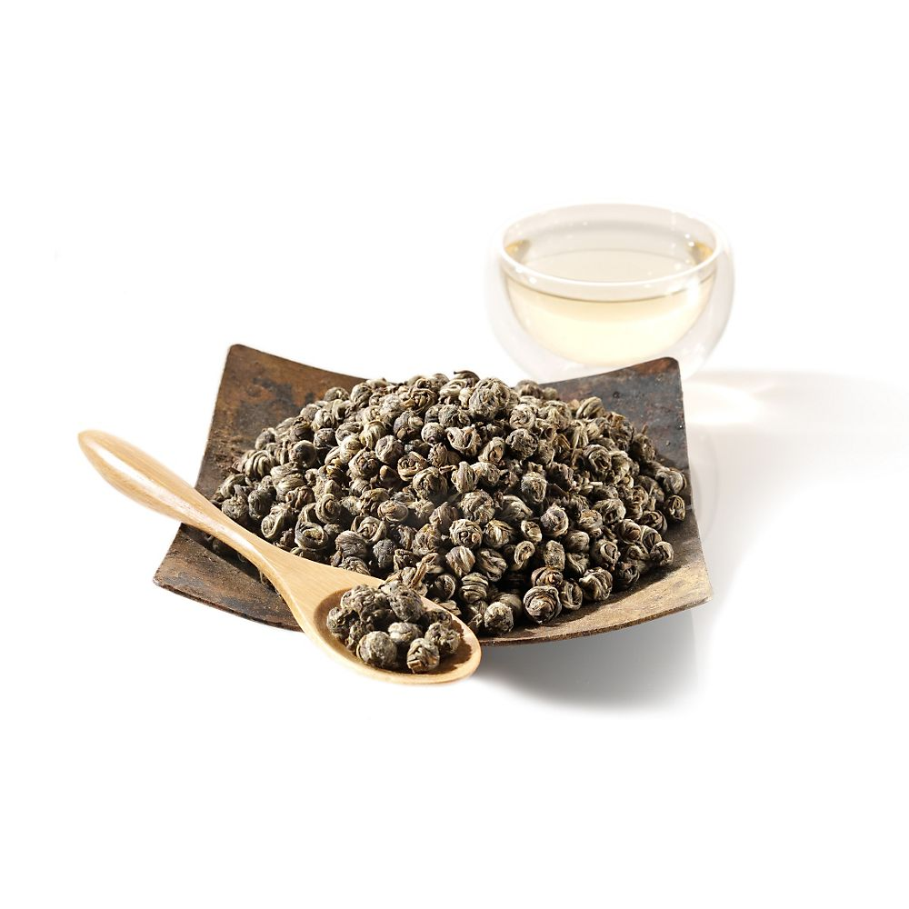 Teavana Jasmine Dragon Phoenix Pearls Loose-Leaf Green Tea
